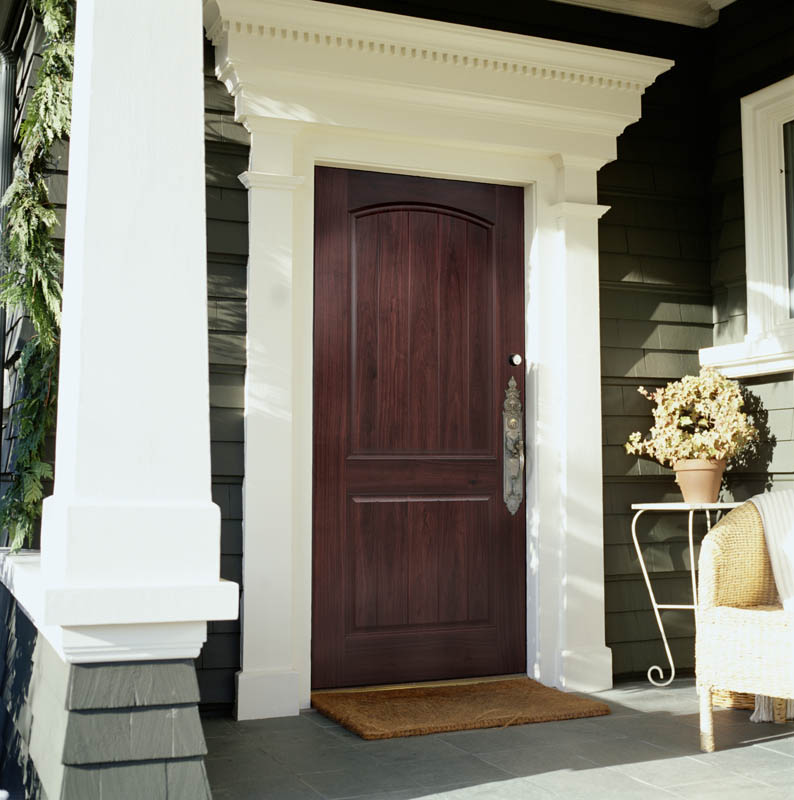 wood been door woodgraining have matched htm stone faux the exterior to fiberglass doors with grained that or colors